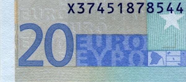 E010 - (Sie sehen ein Musterbild, nicht die angebotene Banknote)