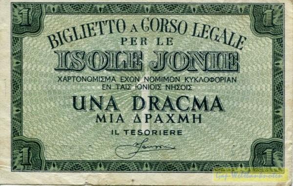 (1941) - (Sie sehen ein Musterbild, nicht die angebotene Banknote)