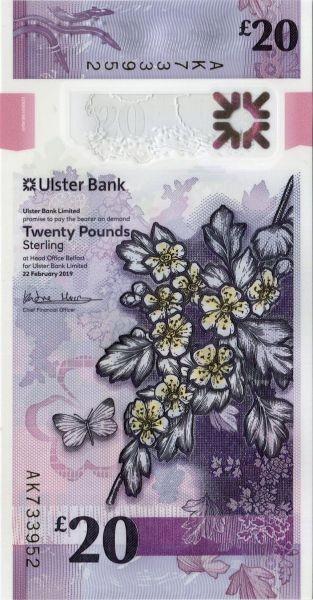 22.2.19 - (Sie sehen ein Musterbild, nicht die angebotene Banknote)