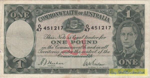 Sheehan-McFarlane - (Sie sehen ein Musterbild, nicht die angebotene Banknote)
