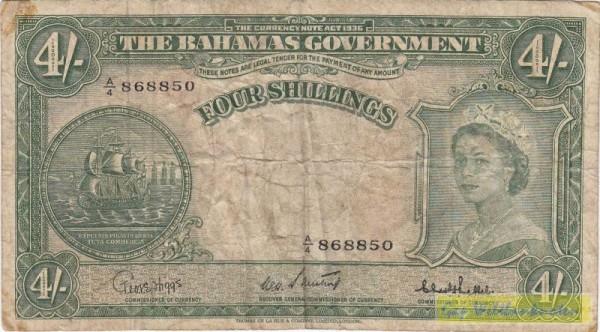 Sweeting-Bethel - (Sie sehen ein Musterbild, nicht die angebotene Banknote)