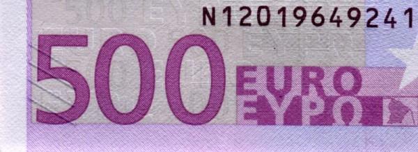 F003 - (Sie sehen ein Musterbild, nicht die angebotene Banknote)