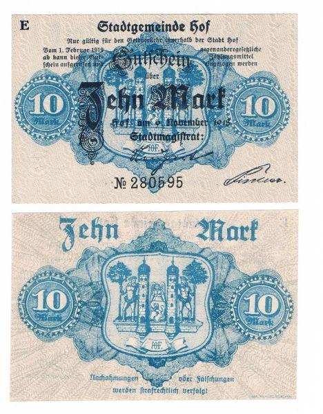 9.11.18, E - (Sie sehen ein Musterbild, nicht die angebotene Banknote)
