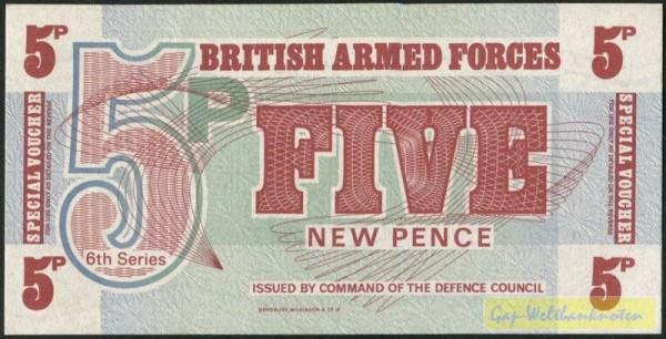 6. Serie, BWC - (Sie sehen ein Musterbild, nicht die angebotene Banknote)