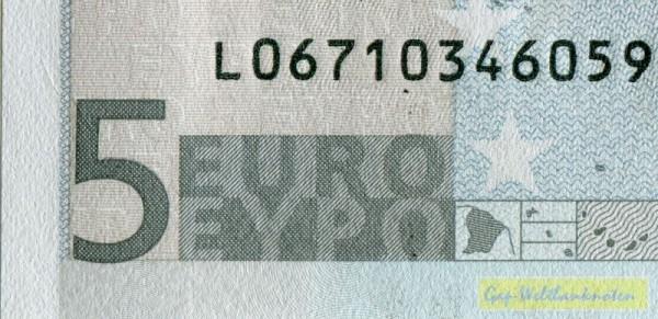 D001 - (Sie sehen ein Musterbild, nicht die angebotene Banknote)