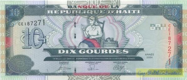 2004, DLR - (Sie sehen ein Musterbild, nicht die angebotene Banknote)