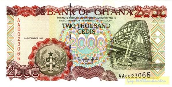 5.12.96 - (Sie sehen ein Musterbild, nicht die angebotene Banknote)