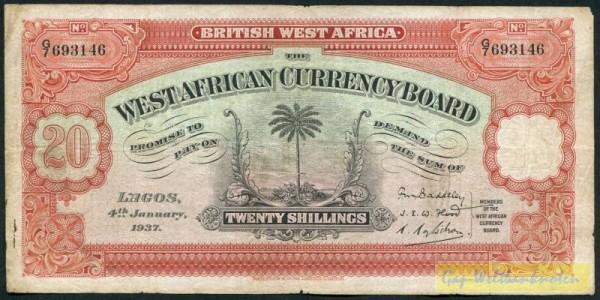 4.1.37 - (Sie sehen ein Musterbild, nicht die angebotene Banknote)