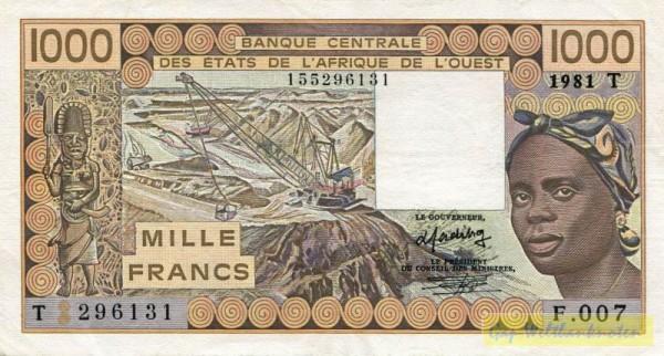 81, Us. 15 - (Sie sehen ein Musterbild, nicht die angebotene Banknote)