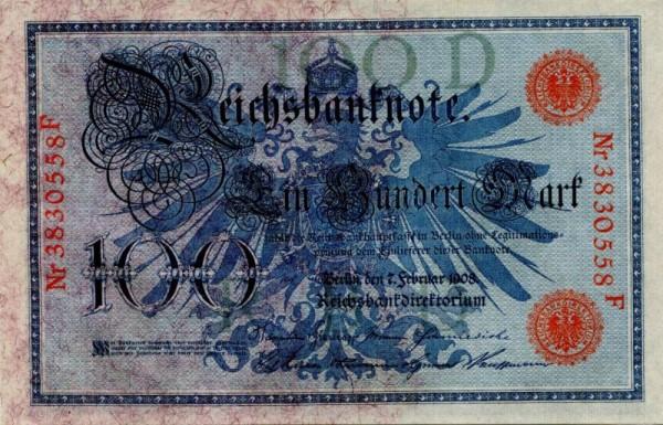 7.2.08, KN 29mm - (Sie sehen ein Musterbild, nicht die angebotene Banknote)