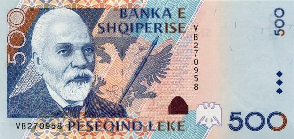 2001, ohne Eck-Wz. - (Sie sehen ein Musterbild, nicht die angebotene Banknote)