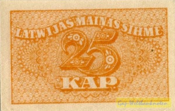 (1920) - (Sie sehen ein Musterbild, nicht die angebotene Banknote)