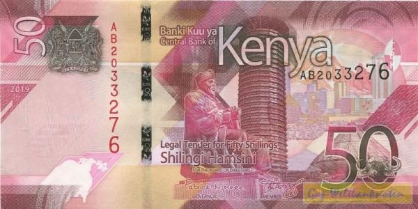 2019 - (Sie sehen ein Musterbild, nicht die angebotene Banknote)