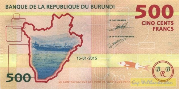 15.1.15 - (Sie sehen ein Musterbild, nicht die angebotene Banknote)