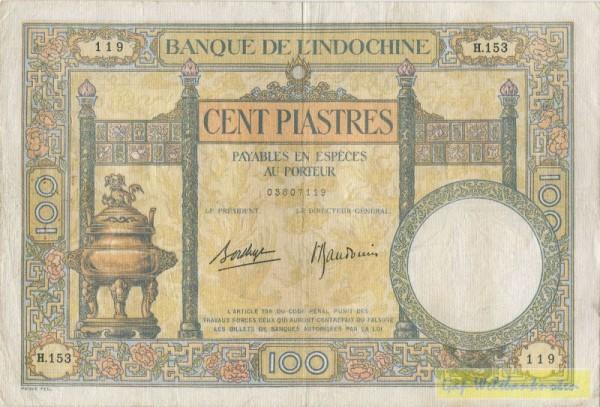 (1936-39) - (Sie sehen ein Musterbild, nicht die angebotene Banknote)