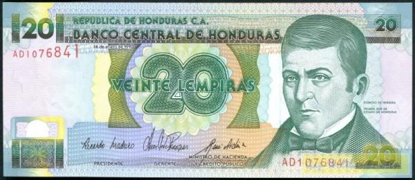 14.1.93, KN rot - (Sie sehen ein Musterbild, nicht die angebotene Banknote)