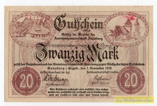 1.11.18, No (N steil), KN, Wz Wellenbündel, entw. - (Sie sehen ein Musterbild, nicht die angebotene Banknote)