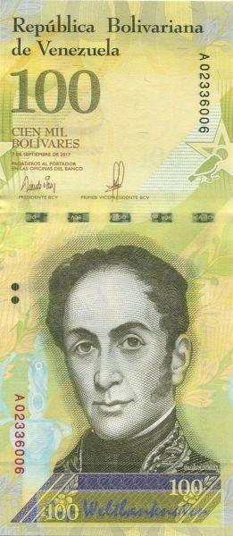 7.9.17 - (Sie sehen ein Musterbild, nicht die angebotene Banknote)