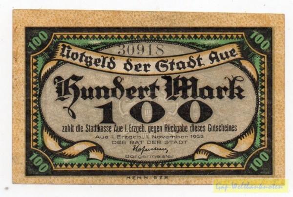 1.10.22, Glanzdruck - (Sie sehen ein Musterbild, nicht die angebotene Banknote)