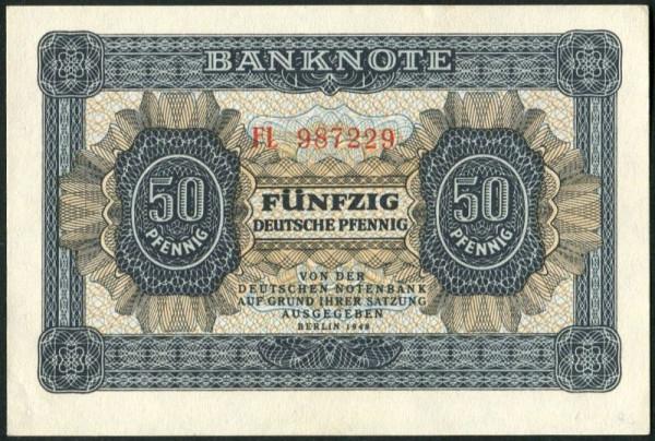 1948, XX KN 6st. - (Sie sehen ein Musterbild, nicht die angebotene Banknote)
