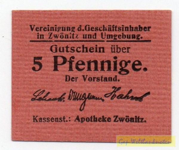 oD, farbiges Kartonpapier - (Sie sehen ein Musterbild, nicht die angebotene Banknote)