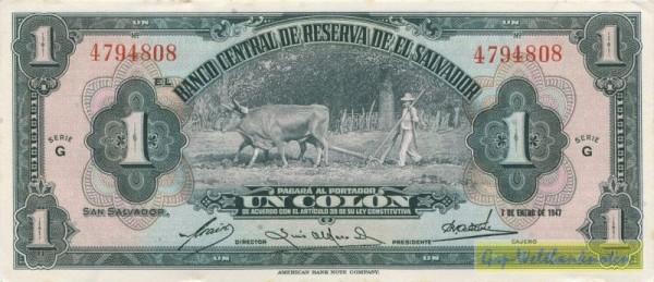 7.1.47 - (Sie sehen ein Musterbild, nicht die angebotene Banknote)