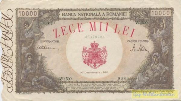 20.12.45 - (Sie sehen ein Musterbild, nicht die angebotene Banknote)