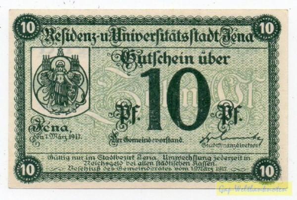 1.3.17, Raster 28 mm, Papier weiß, KN Type II - (Sie sehen ein Musterbild, nicht die angebotene Banknote)
