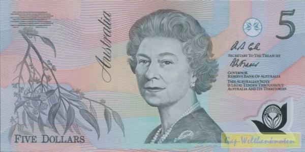 oD, Cole-Fraser - (Sie sehen ein Musterbild, nicht die angebotene Banknote)