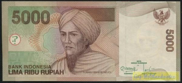 2013/2001 - (Sie sehen ein Musterbild, nicht die angebotene Banknote)