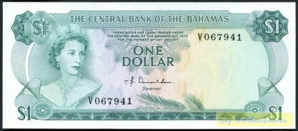 Us. Donaldson, X KN - (Sie sehen ein Musterbild, nicht die angebotene Banknote)