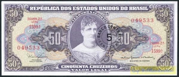 Ministro, S. 1314-1885 - (Sie sehen ein Musterbild, nicht die angebotene Banknote)