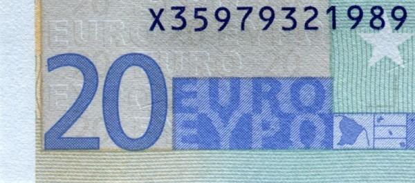 P018,019 - (Sie sehen ein Musterbild, nicht die angebotene Banknote)