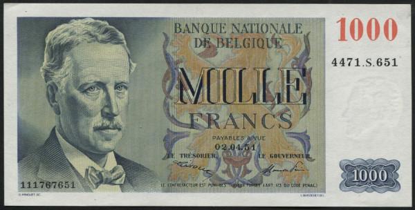 Frère/Pirsoul - (Sie sehen ein Musterbild, nicht die angebotene Banknote)