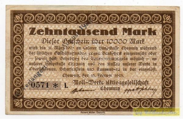 15.2.23, KN 8*, C - (Sie sehen ein Musterbild, nicht die angebotene Banknote)