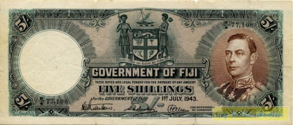 halb durchgerissen, s. III - (Sie sehen ein Musterbild, nicht die angebotene Banknote)