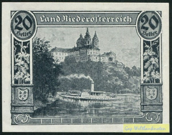 Mai 1920, mit Druckfirma - (Sie sehen ein Musterbild, nicht die angebotene Banknote)