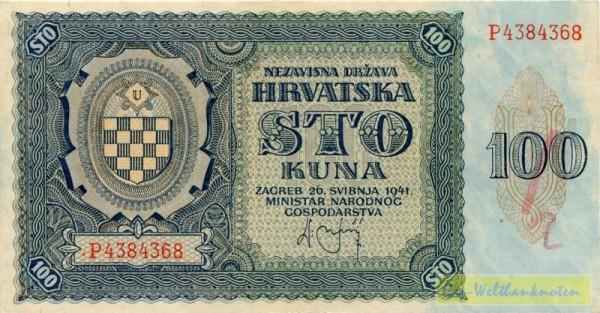 26.5.41 - (Sie sehen ein Musterbild, nicht die angebotene Banknote)