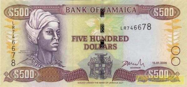 15.1.06 - (Sie sehen ein Musterbild, nicht die angebotene Banknote)