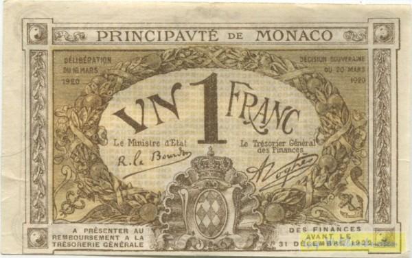 16.3.20, braun, C - (Sie sehen ein Musterbild, nicht die angebotene Banknote)