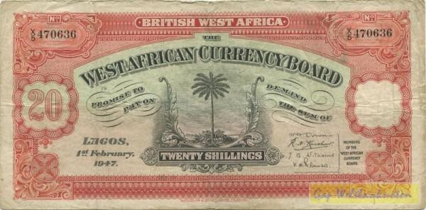 1.2.47 - (Sie sehen ein Musterbild, nicht die angebotene Banknote)
