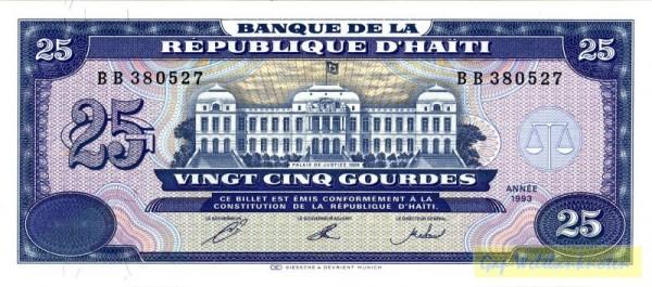 1993, beide KN schwarz - (Sie sehen ein Musterbild, nicht die angebotene Banknote)