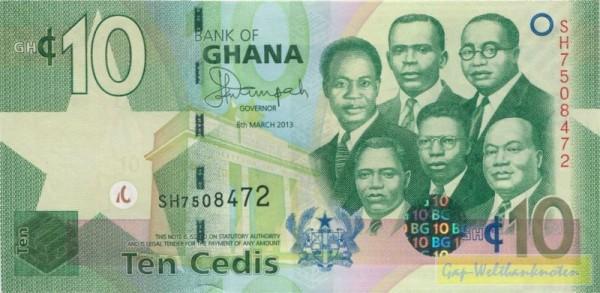 6.3.13 - (Sie sehen ein Musterbild, nicht die angebotene Banknote)