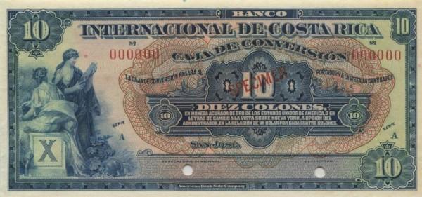 Specimen - (Sie sehen ein Musterbild, nicht die angebotene Banknote)