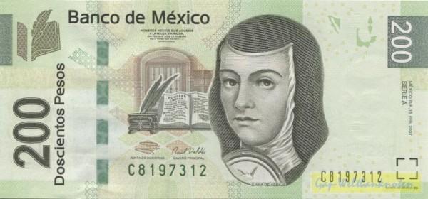 15.2.07, A - (Sie sehen ein Musterbild, nicht die angebotene Banknote)